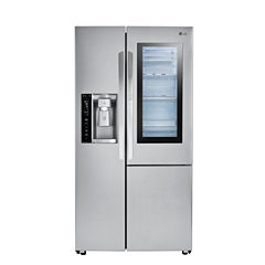 LG 21.7 cu.ft. Counter-Depth InstaView™ Door-in-Door® Side-By-Side Refrigerator