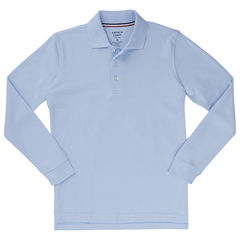 French Toast Ls Pique Polo Boys 2T-4T