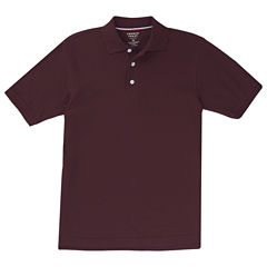 French Toast Ss Pique Polo Boys Big Kid