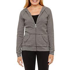 Silverwear Long Sleeve Knit Hoodie Petites