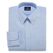 Stafford® Long-Sleeve Travel Wrinkle-Free Oxford Dress Shirt - Big & Tall