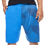 The Foundry Big & Tall Supply Co.™ Linear Basketball Shorts