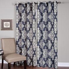 Medina Ikat Grommet-Top Curtain Panel