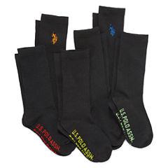 U.S. Polo Assn.® Assorted 6-pk. Crew Socks - Boys