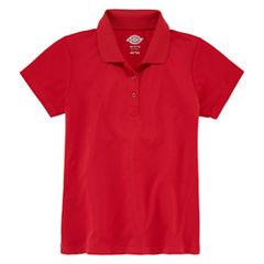 Dickies® Short-Sleeve Performance Polo Shirt - Preschool Girls 4-6x