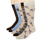 Stafford® 5-pk. Cotton-Rich Crew Socks - Big & Tall