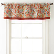 JCPenney Home™ Morocco Rod-Pocket/Tab-Top Lined Valance