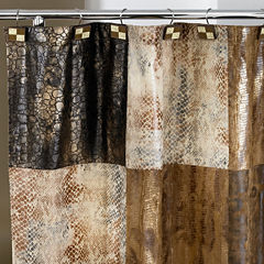 Zambia Animal-Print Shower Curtain