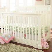 Rockland Hartford Flat-Top Crib - Antique White