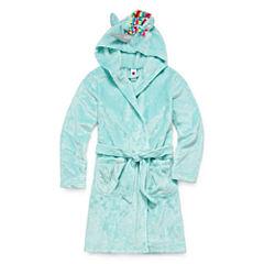Total Girl Long Sleeve Robe-Big Kid Girls