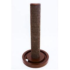 Zoovilla™ Cat Scratching Post with round ball toy base