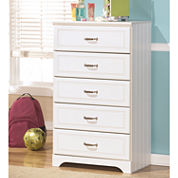 Signature Design by Ashley® Lulu 5-Drawer Chest