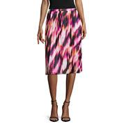 Worthington® Pleated Soft Midi Skirt