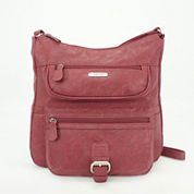St. John`s Bay Multi Flare Crossbody Bag