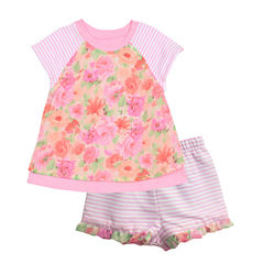 Marmellata 2-pc. Short Set Baby Girls