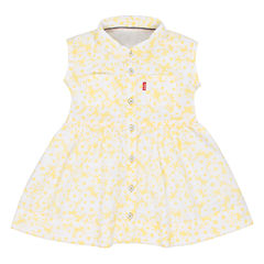 Levi's Freeform Sleeveless Roll Sleeve A-Line Dress - Baby Girls