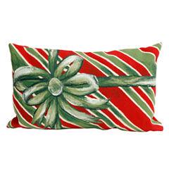 Liora Manne Visions Iii Gift Box Rectangular Outdoor Pillow