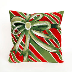Liora Manne Visions Iii Gift Box Square Outdoor Pillow