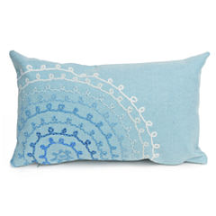 Liora Manne Visions Ii Ombre Threads Rectangular Outdoor Pillow
