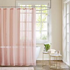Madison Park Lydia Sheer Shower Curtain