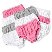 Maidenform 10-pk. Solid Brief Panties - Girls 4-14