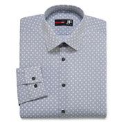 JF J. Ferrar® Long-Sleeve Slim Stretch Dress Shirt