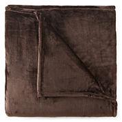 JCPenney Home™ Velvet Plush Blanket