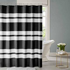 Aria Printed Seersucker Shower Curtain