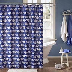 Nolan Cotton Shower Curtain