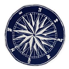 Liora Manne Frontporch Compass Hand Tufted Rectangular Rugs