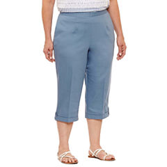 Alfred Dunner Blue Lagoon Capris Plus