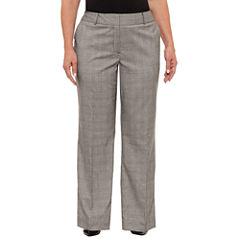 Liz Claiborne Curvy Fit Trousers Plus