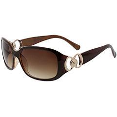 Oleg Cassini Rectangle Sunglasses