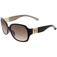 Oleg Cassini Rectangle Sunglasses