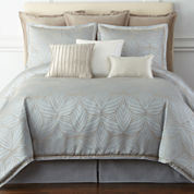 Liz Claiborne® Belaire 4-pc. Jacquard Comforter Set & Accessories