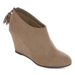 CL By Laundry Vim Ankle Wedge Shooties
