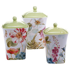 Certified International 3-pc. Rainbow Seeds Canister Set