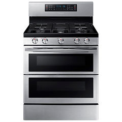 Samsung 5.8 Cu. Ft. Flex Duo™ With Dual Door Freestanding Gas Range