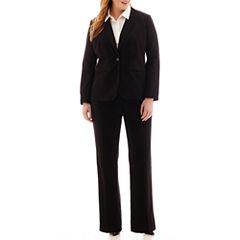 Liz Claiborne® One-Button Suit Jacket, Button-Front Shirt or Slender Pants - Plus