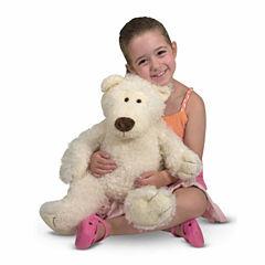 Melissa & Doug® Big Roscoe Bear - Vanilla