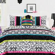 Seventeen® Boho Nikko Damask Comforter Set & Accessories