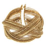 Decree® Beaded Metal Cuff Bracelet