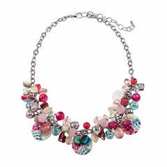 Studio By Carol Womens Collar Necklace