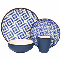 Sango Crystal 16-pc. Dinnerware Set
