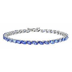 LIMITED QUANTITIES Genuine Tanzanite Sterling Silver Bracelet