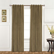 United Curtain Co. Dupioni Silk Back-Tab Curtain Panel