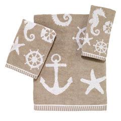 Avanti® Sea & Sand Bath Towels
