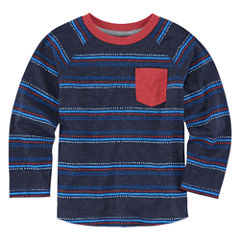 Arizona Boys Long-Sleeve Raglan T-Shirt - Toddler 2T-5T