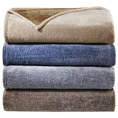 Woolrich Heathered Plush Blanket