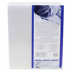 BedCare All Cotton Allergy and Bed Bug Proof Mattress Topper Cover